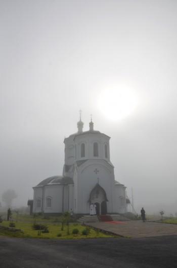 Величественный храм Прп. Сергия Радонежского села Липовка Задонского района Липецкой области