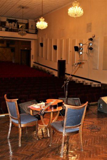 Всё готово... Концертный зал Дома Литераторов уже ожидает зрителей...