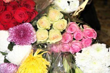 Цветы от любимых слушателей
