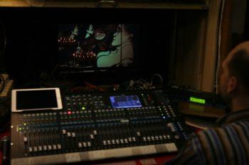 Начало концерта и видео-клип Ксении Симоновой СКРИПКА...